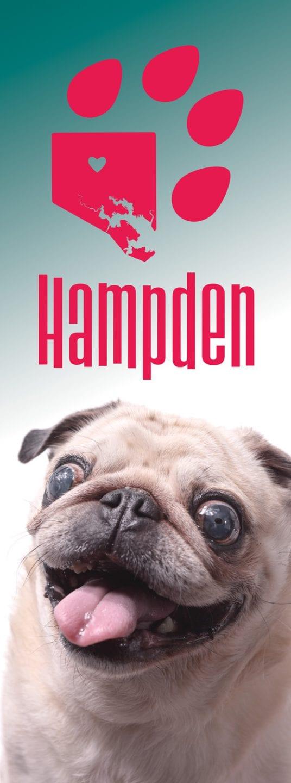 Hampden dog banner pug