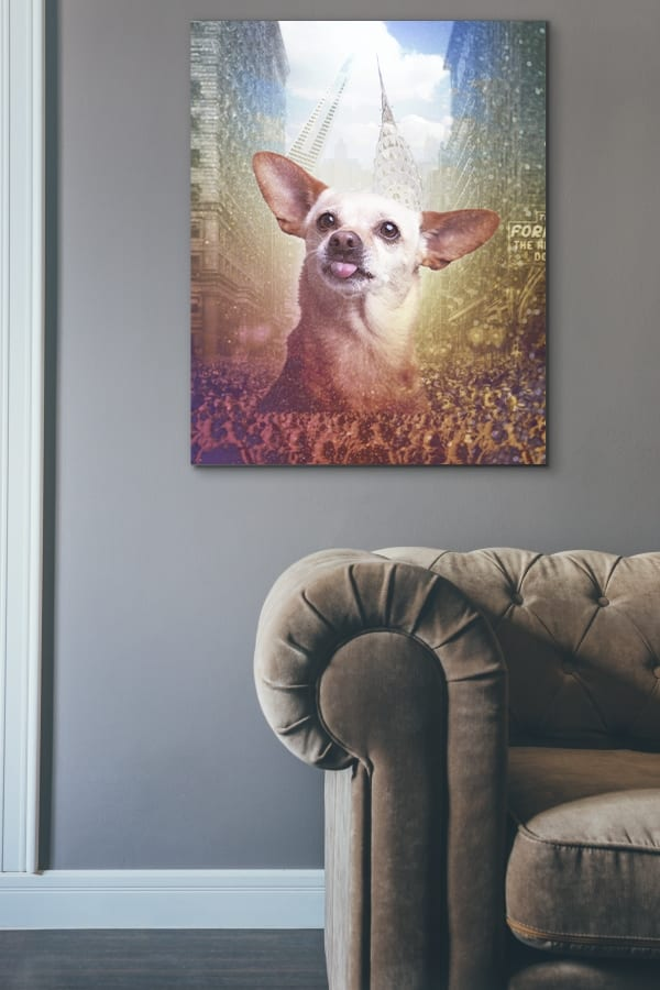 Licensed pet and dog photo art for hotels, offices, restaurants and lobbies.