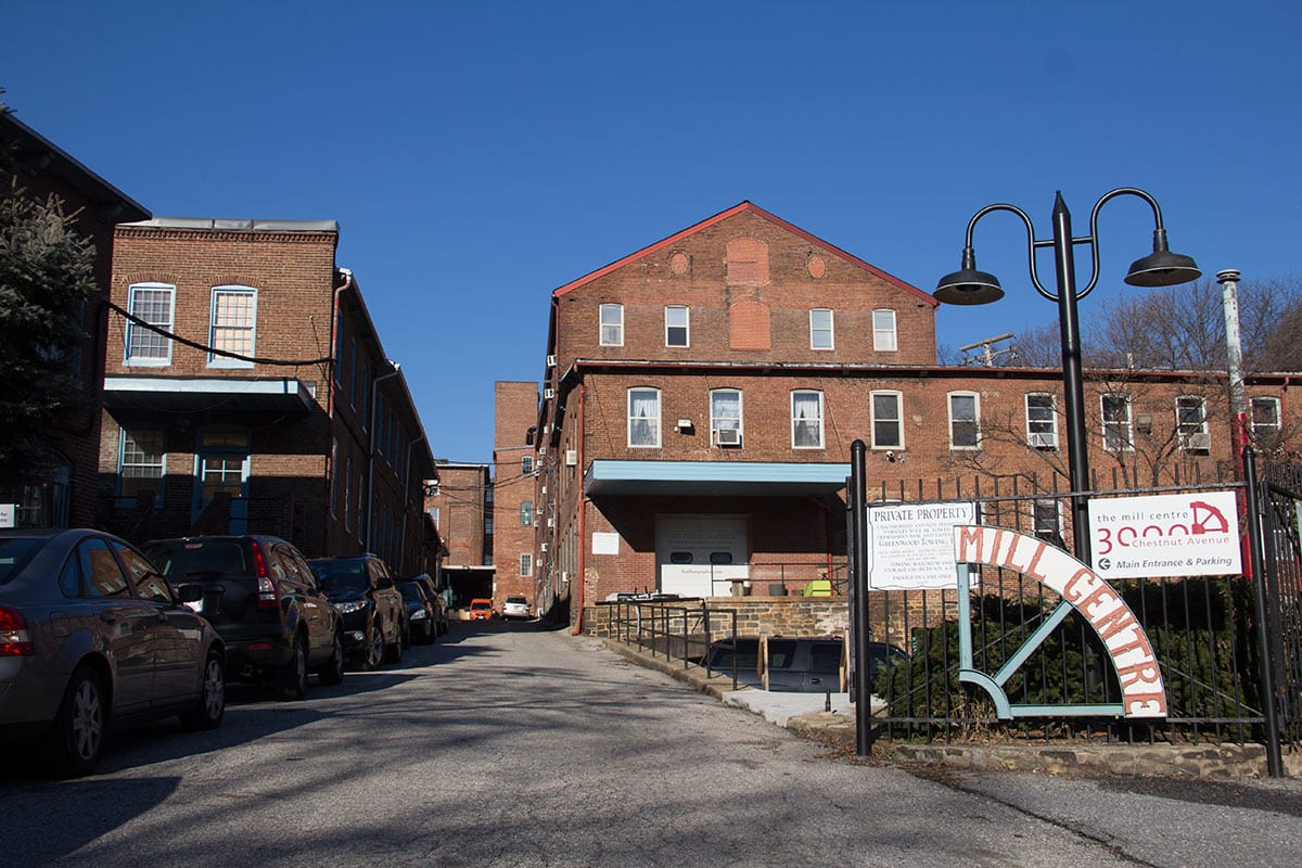 Exterior photo of the new Hampden location of the Puptrait Studio